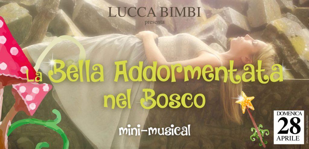 mini musical la bella addormentata nel bosco Lucca Bimbi