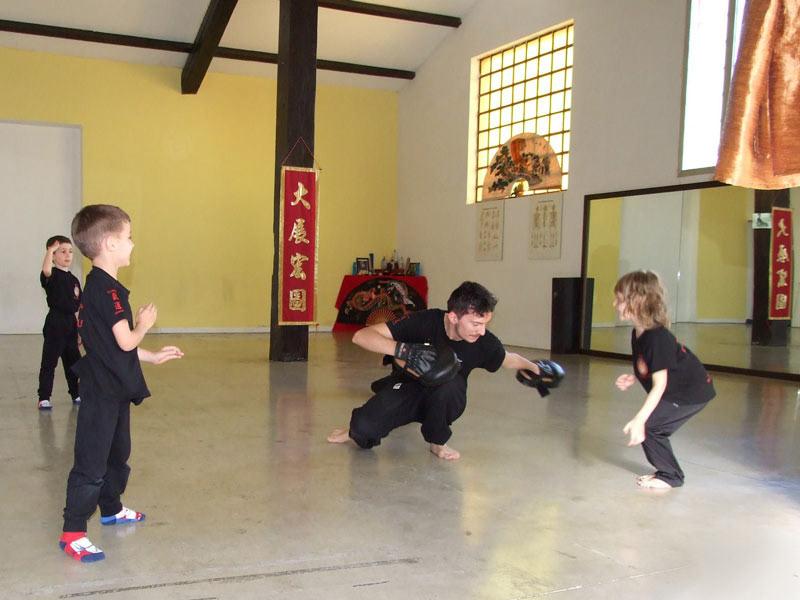 area kung fu Lucca Bimbi